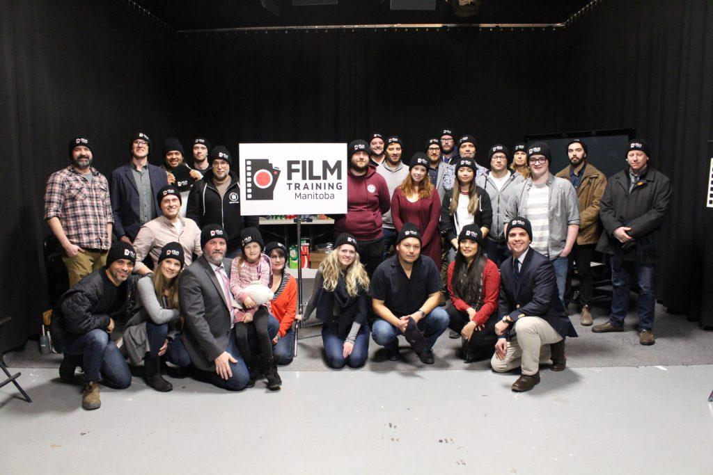Film Training Manitoba hosts a workshop.