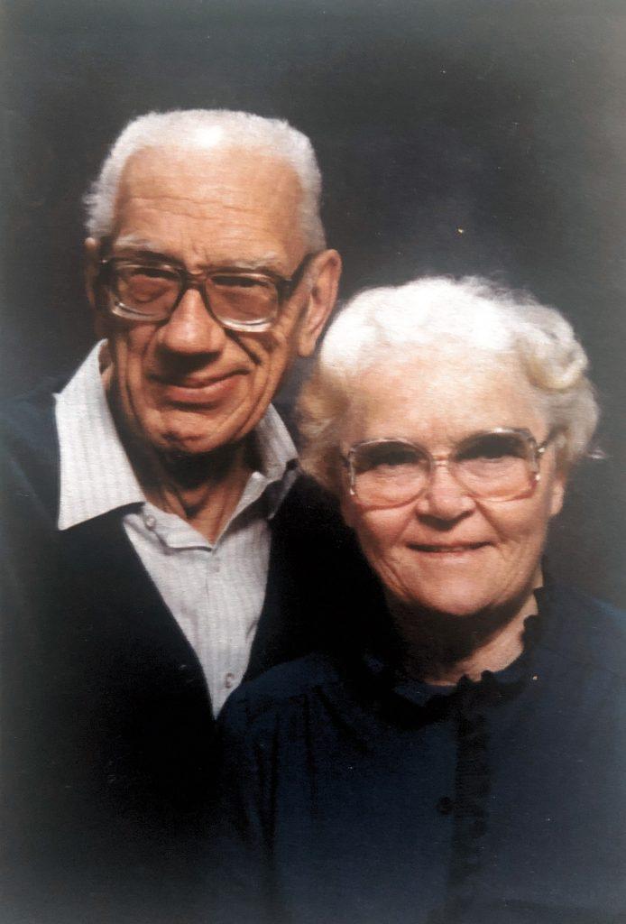 Art and Elsie Admiraal, Pam's parents.