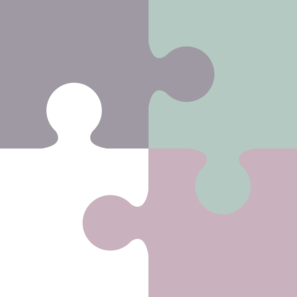 3 puzzle pieces as yet another chapter marker.