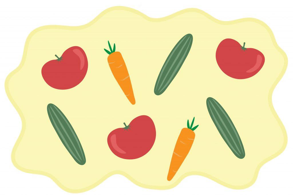 Growing veggies & growing up