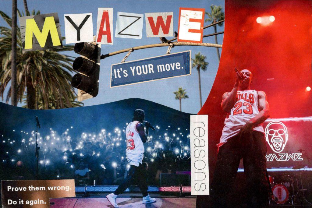 Myazwe collage